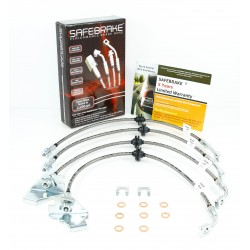Commodore VF SS 6.0L V8 2013-on brake upgrade- SAFEBRAKE Performance Hoses